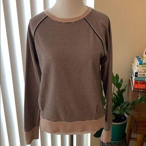 Lululemon Crew Love Pullover Striped Sweatshirt 6